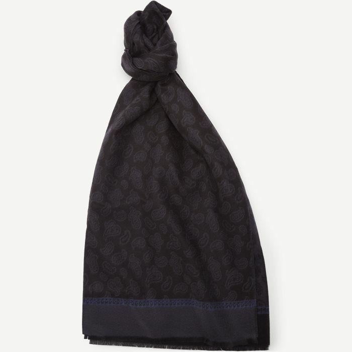 Pamplona Halstørklæde - Scarves - Black