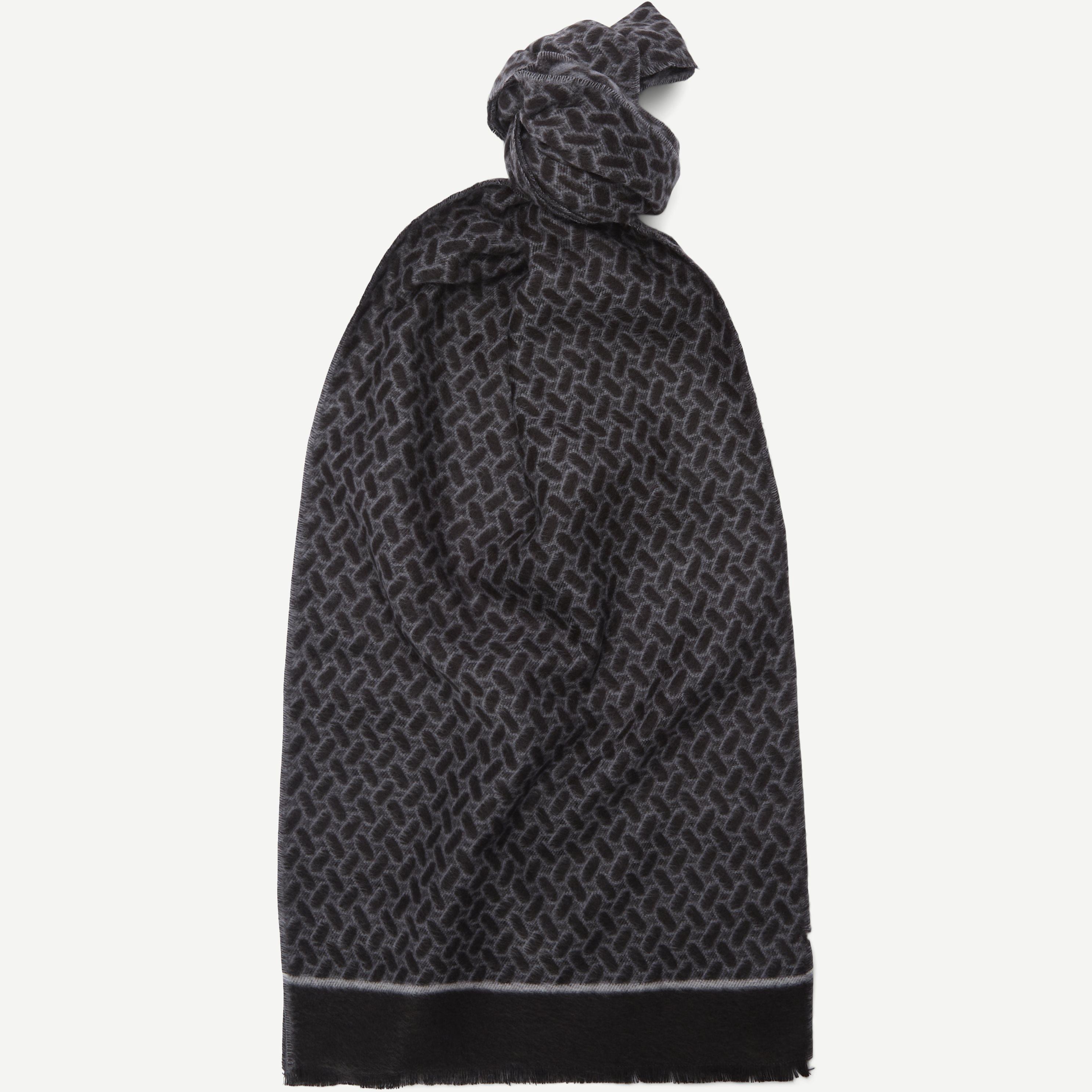 Oviedo Halstørklæde  - Scarves - Black