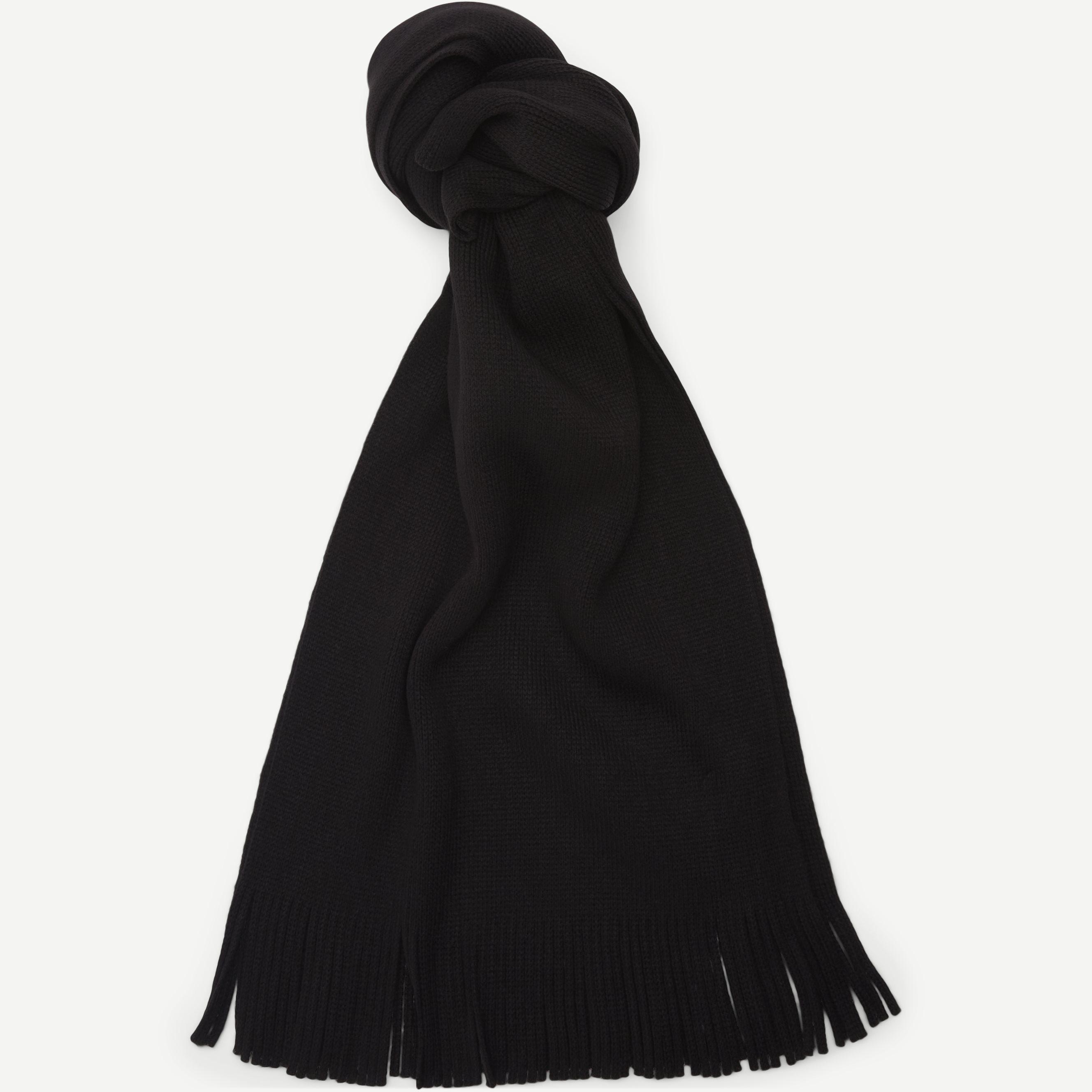 Tachov Tørklæde - Halsdukar - Svart