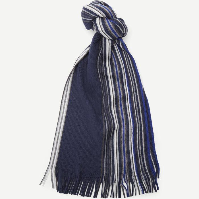 Benetice Halstørklæde - Halsdukar - Blå