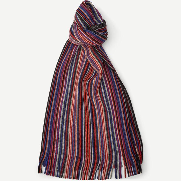 Kladno Halstørklæde - Scarves - Red
