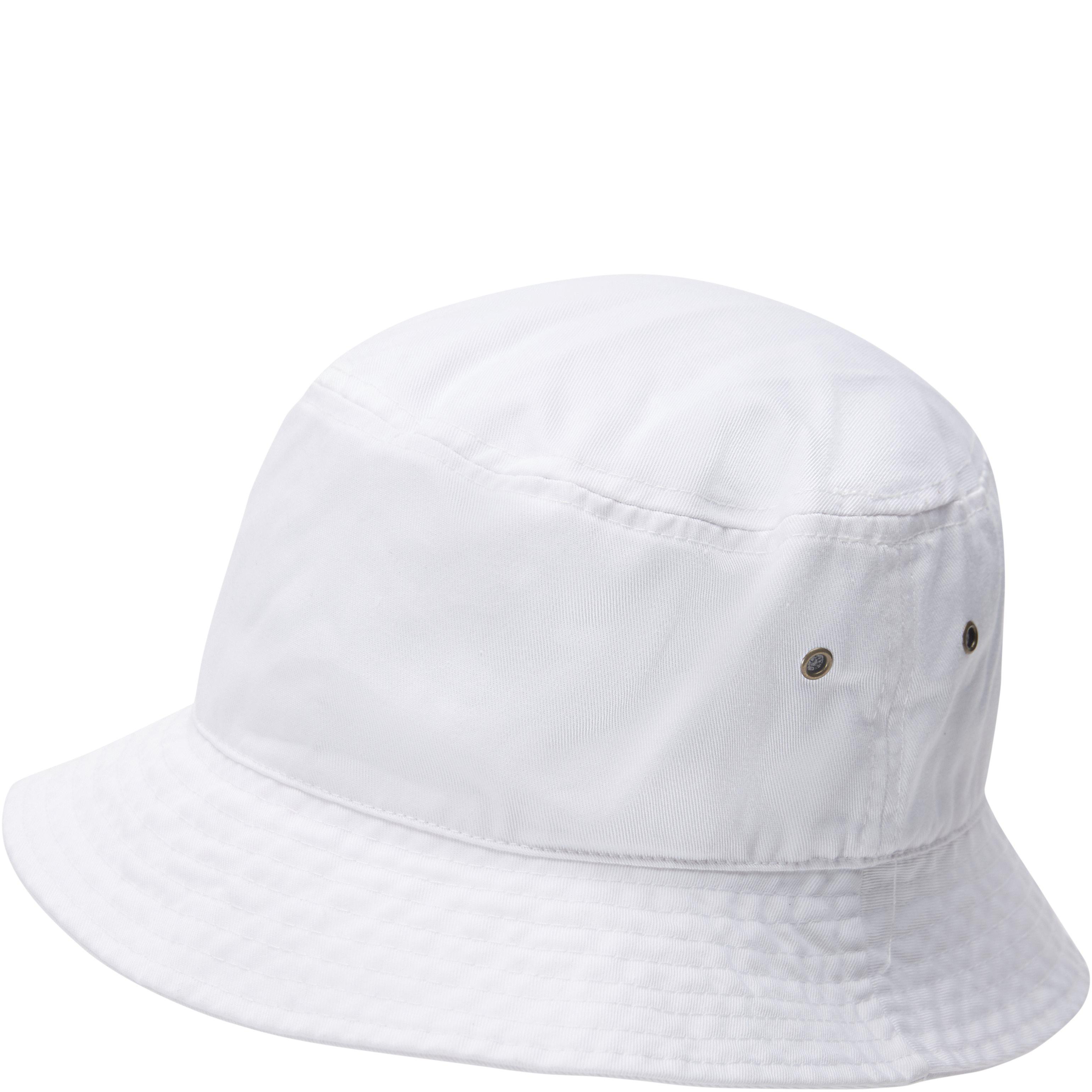 Bucket Hat - Caps - Hvid