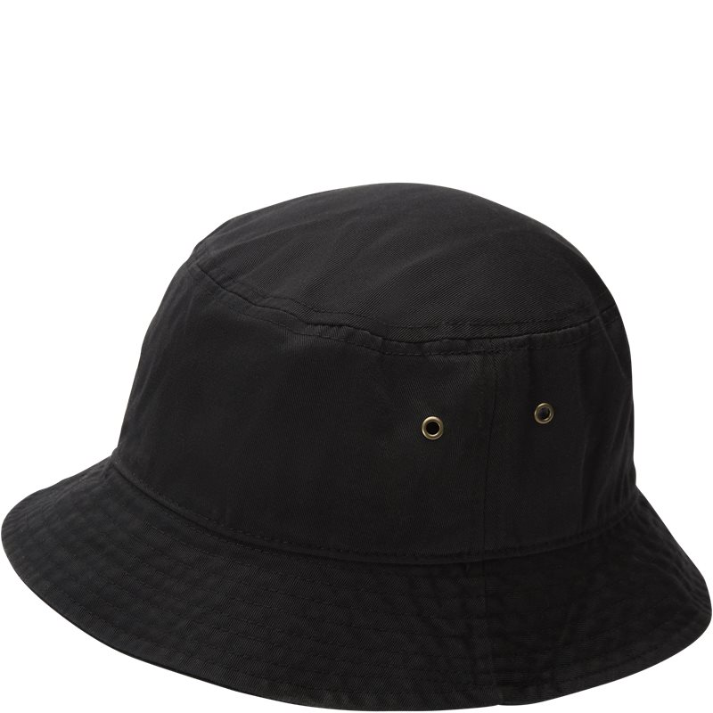 quint Quint bucket hat sort fra quint.dk