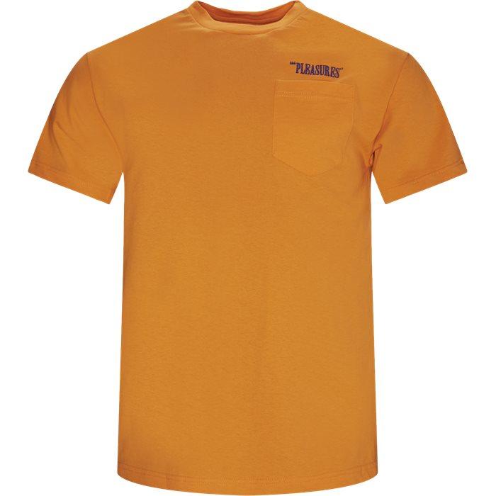 Balance Tee - T-shirts - Regular - Orange