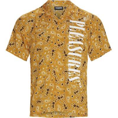 Andy Kortærmet Skjorte Regular | Andy Kortærmet Skjorte | Gul