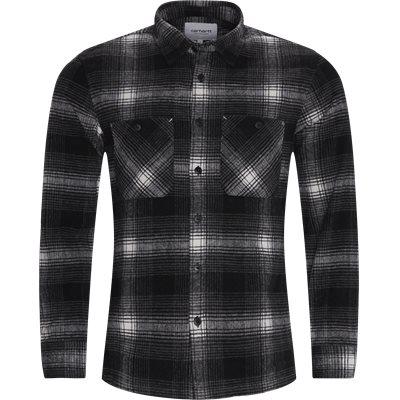 L/S Nigel Shirt Regular fit   L/S Nigel Shirt   Grå