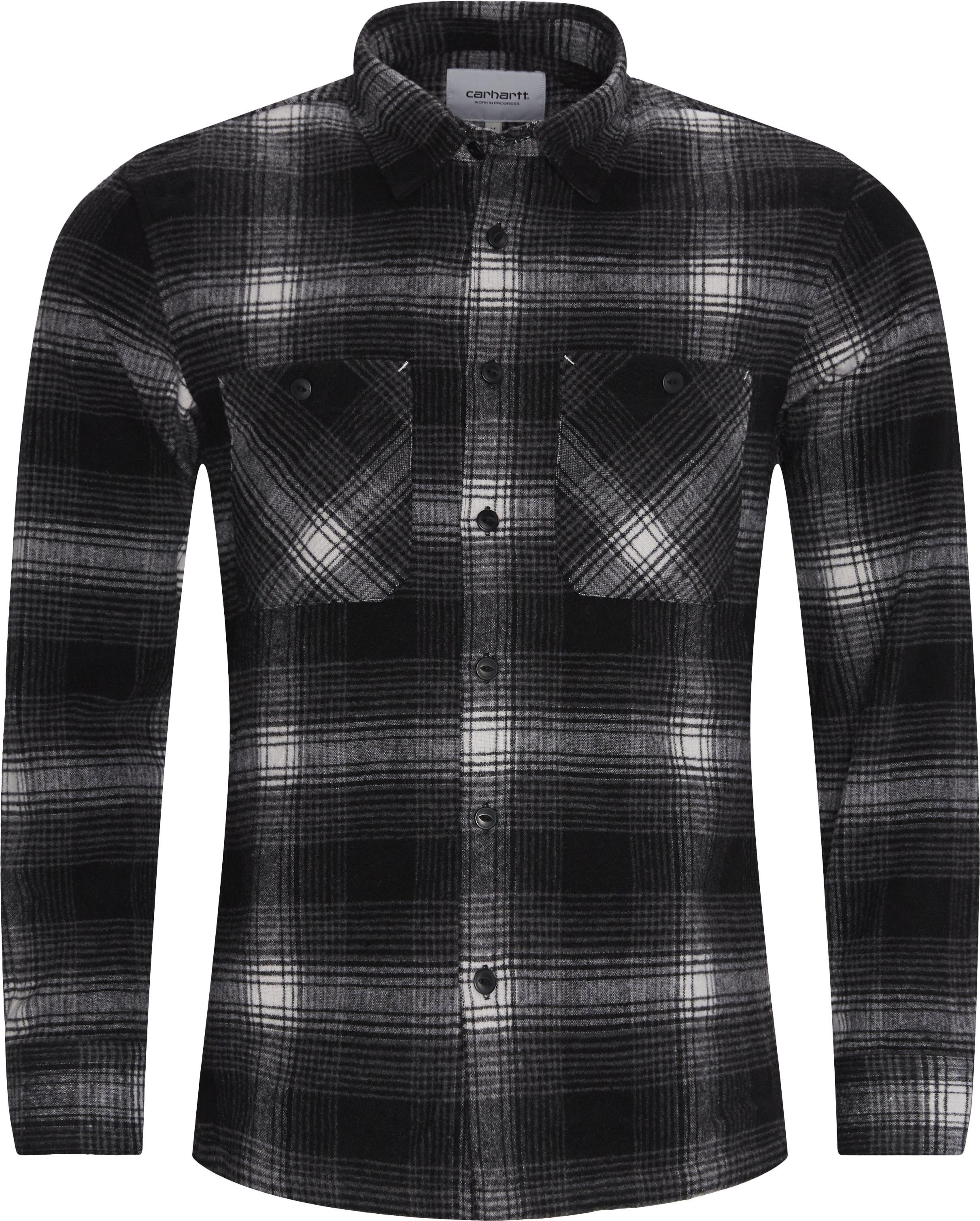 L/S Nigel Shirt - Skjortor - Regular - Grå