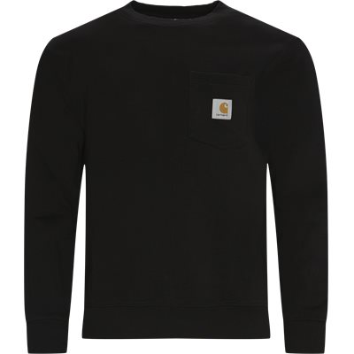 Pocket Sweatshirt Regular fit | Pocket Sweatshirt | Sort