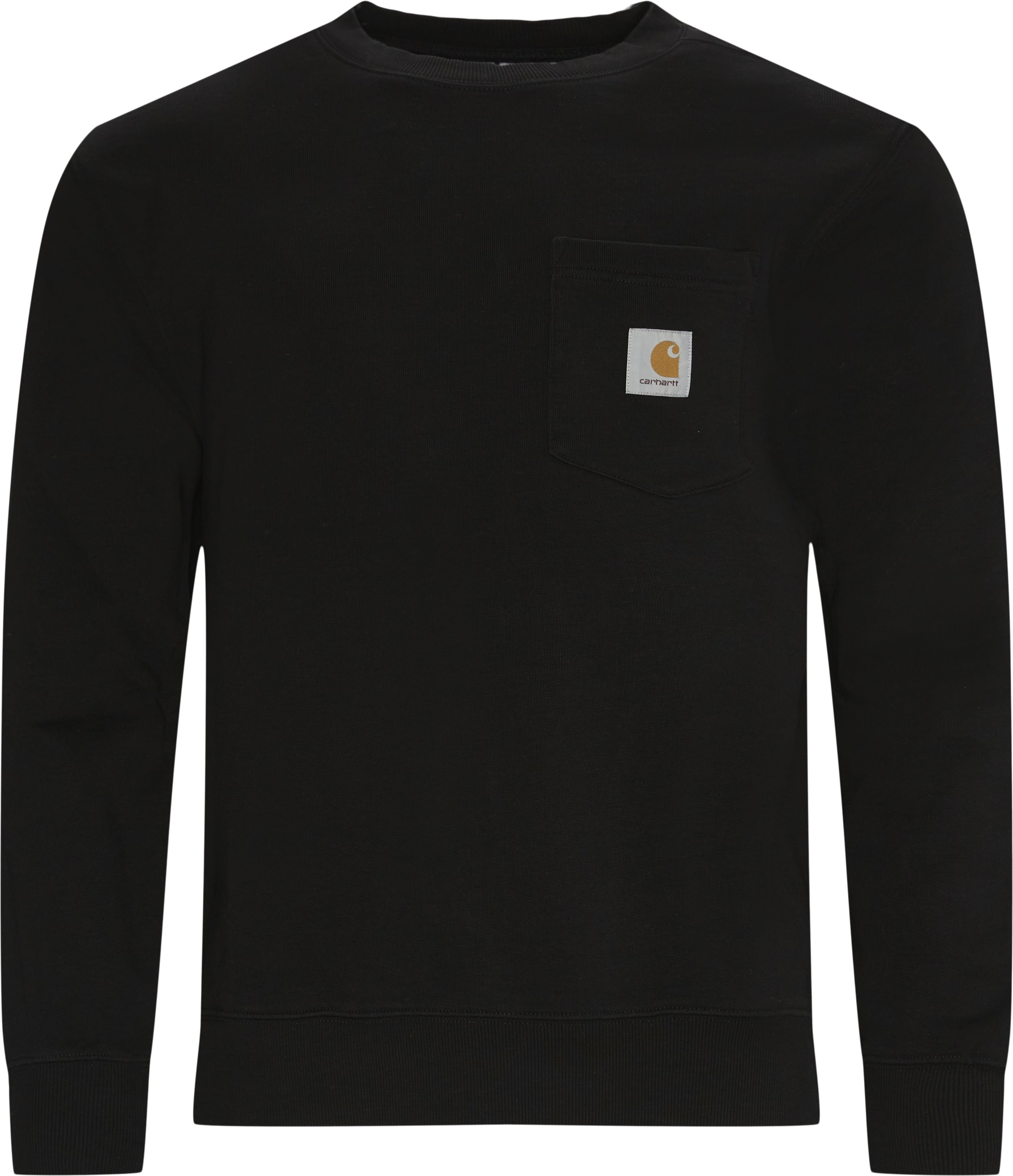 Pocket Sweatshirt - Sweatshirts - Regular - Sort
