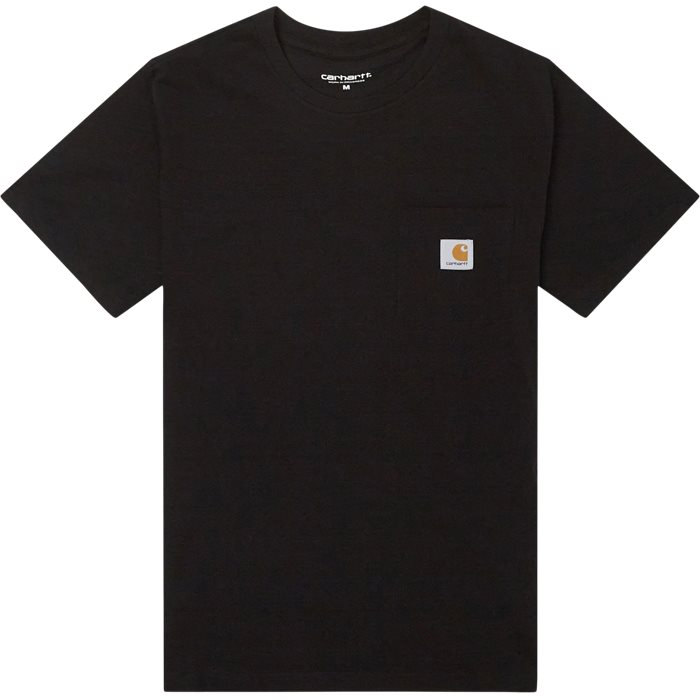Pocket Tee - T-shirts - Regular - Sort