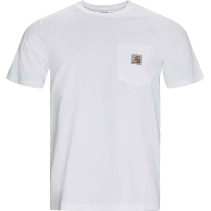 Pocket Tee - T-shirts - Regular - Hvid