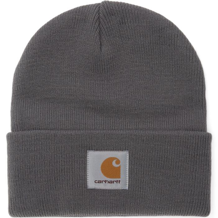 Short Watch Hat - Huer - Grå