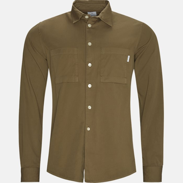 Shirts - Casual fit - Sand