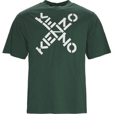 Oversize fit | T-shirts | Grøn
