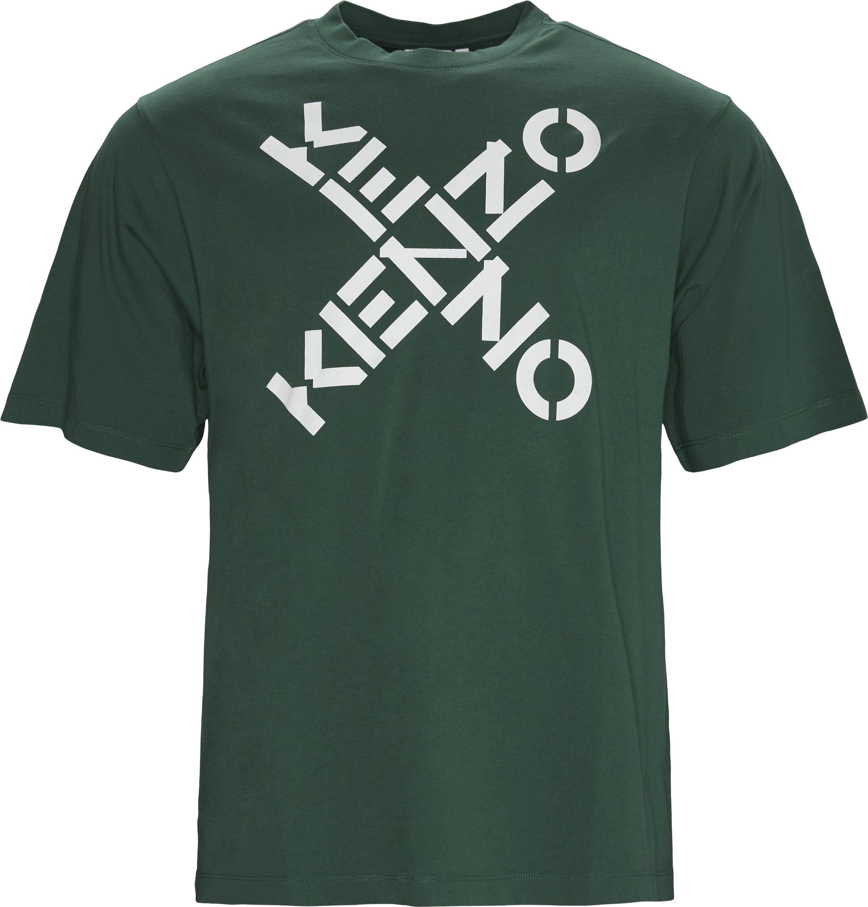 T-shirts - Oversize fit - Grøn