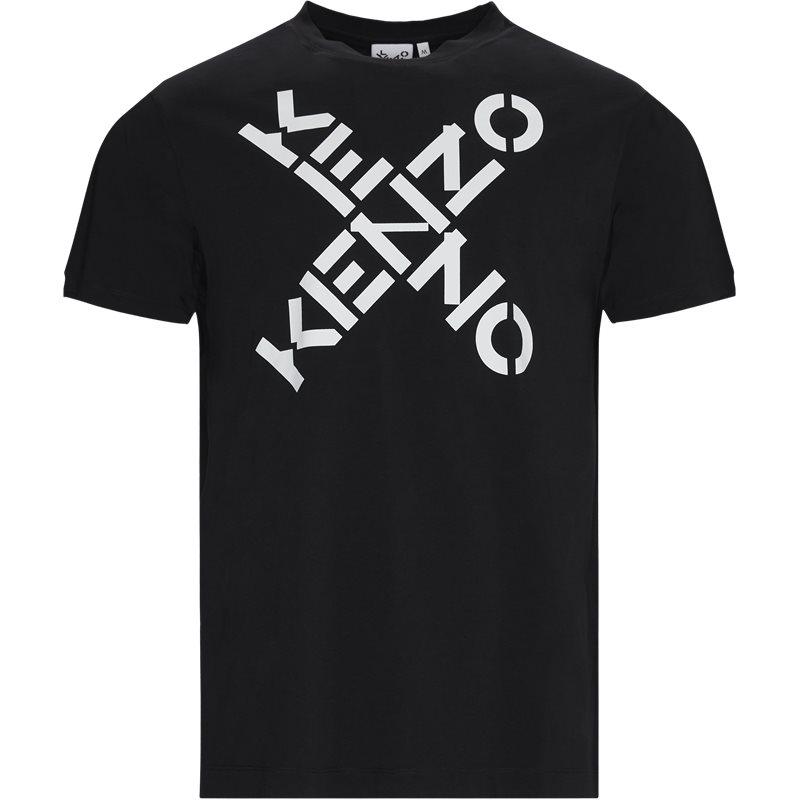 Kenzo Regular fit TS5024SJ T-shirts Sort