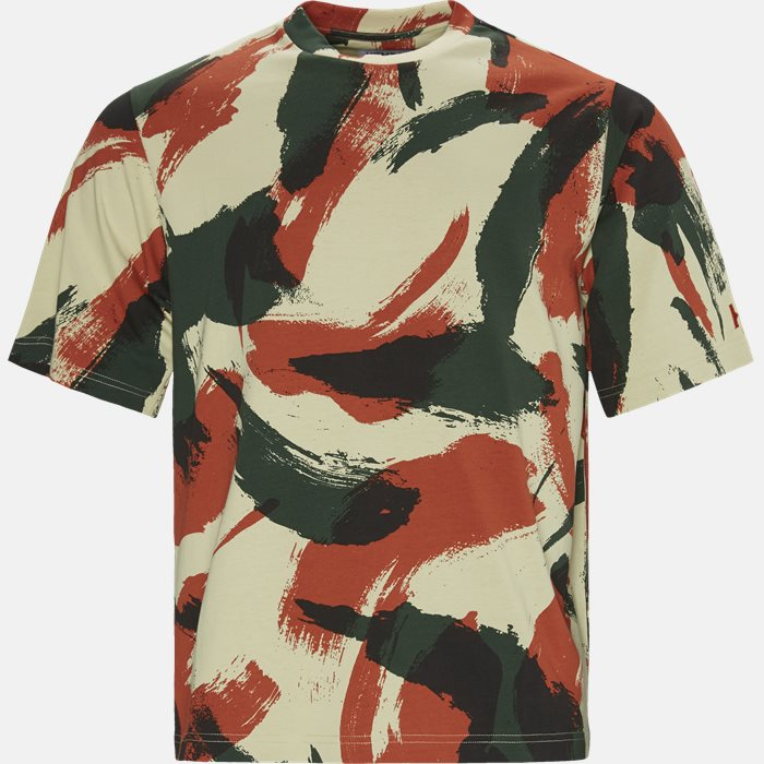 T-shirts - Oversized - Army