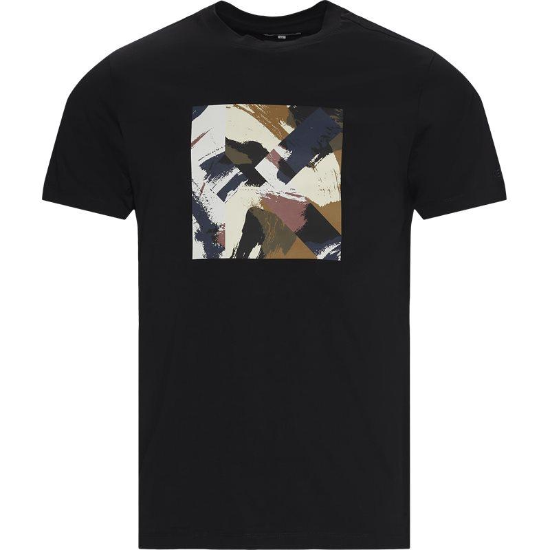 Kenzo Regular fit FA65TS0104SJ T-shirts Sort