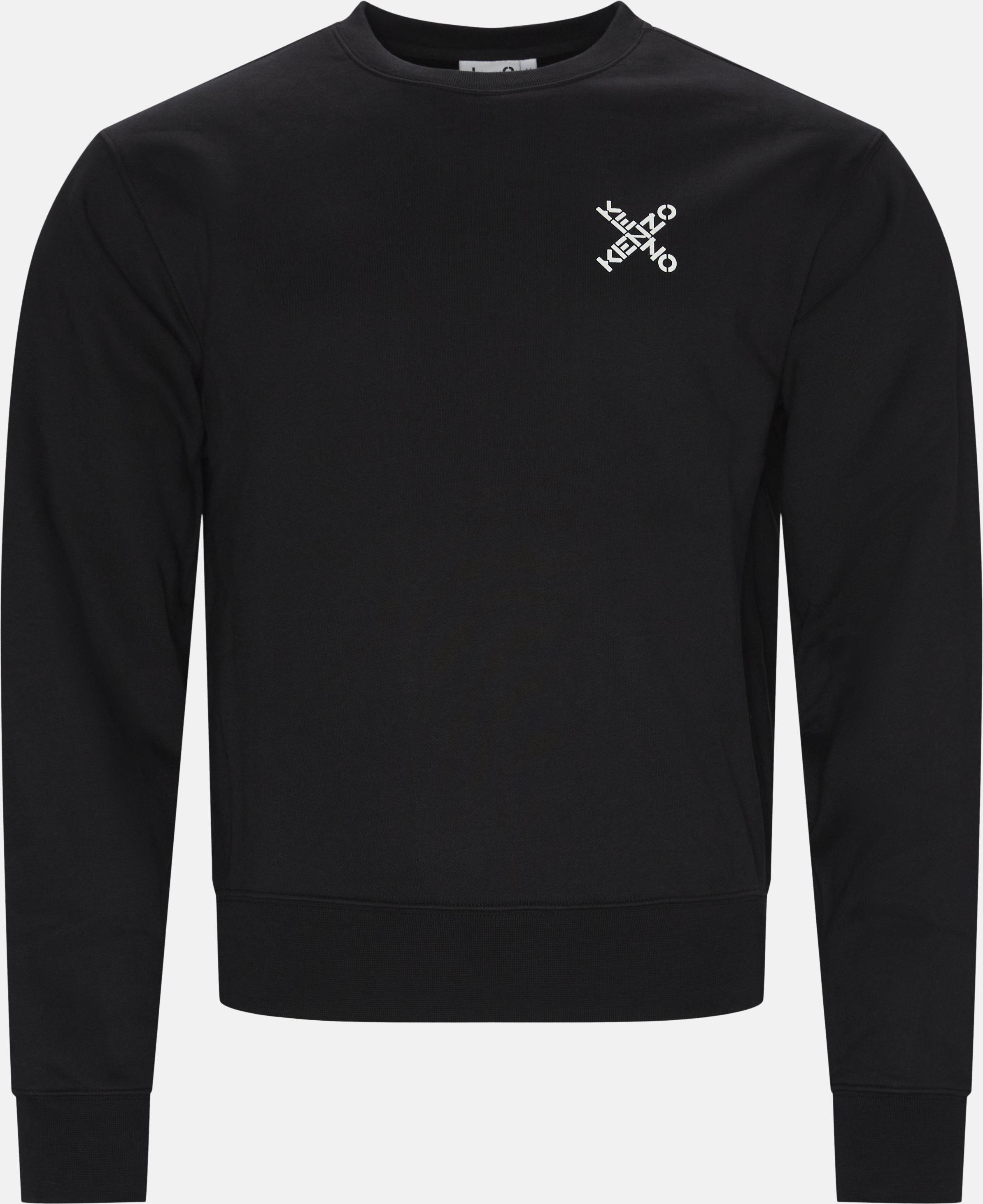 Sweatshirts - Casual fit - Black