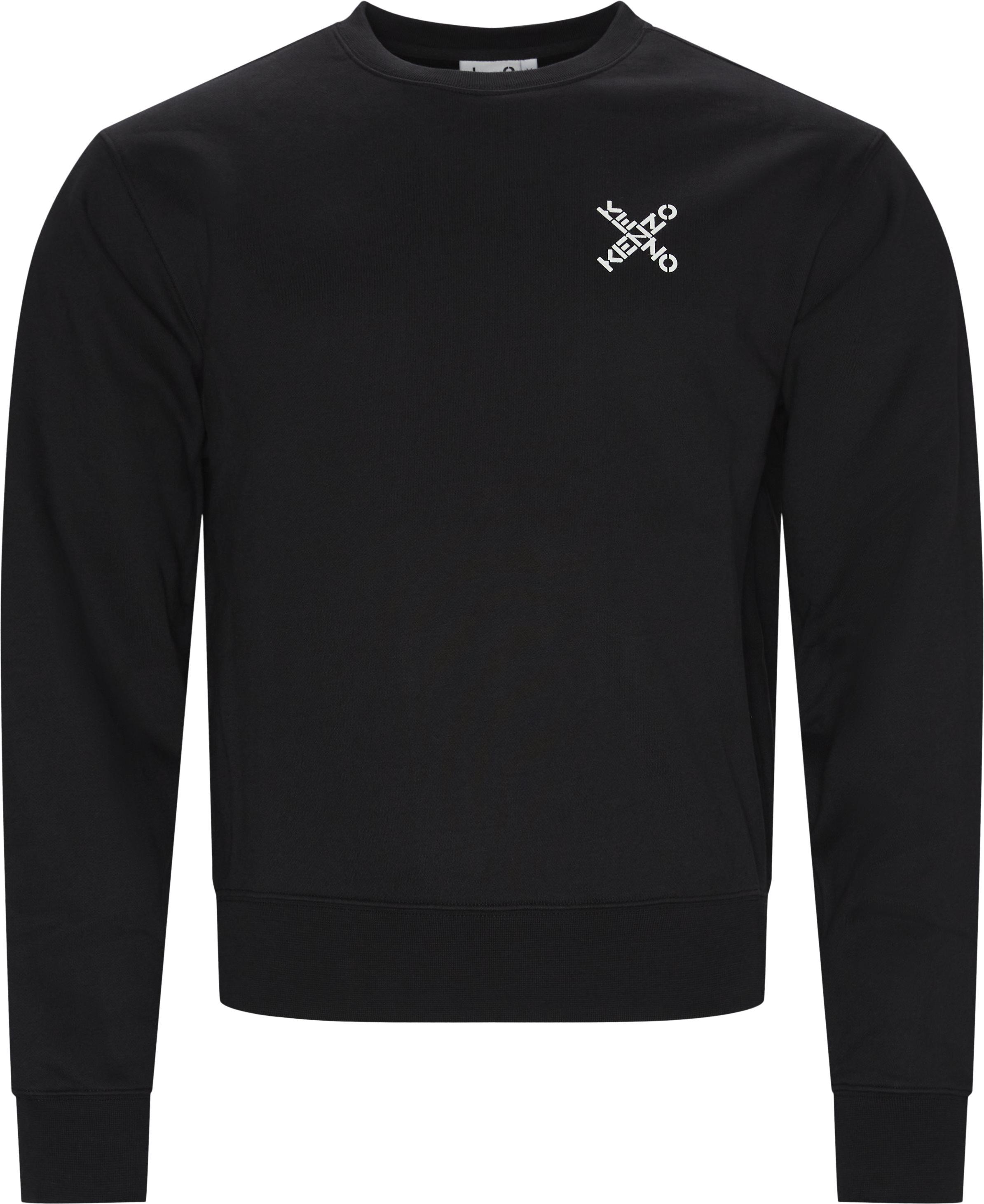 Sweatshirts - Oversize fit - Sort