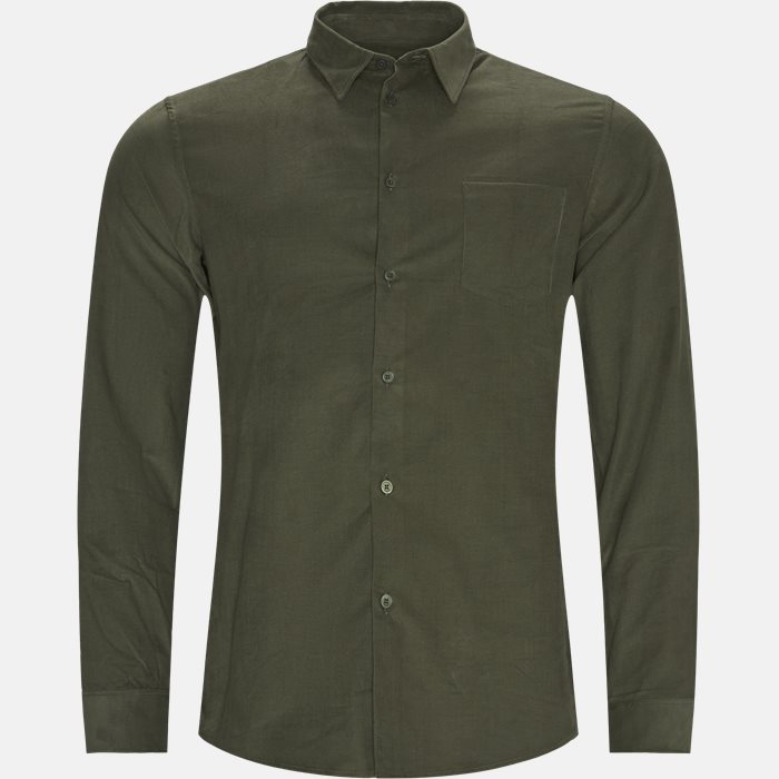 Shirts - Regular fit - Army