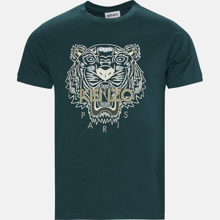 T-shirts - Regular fit - Grøn