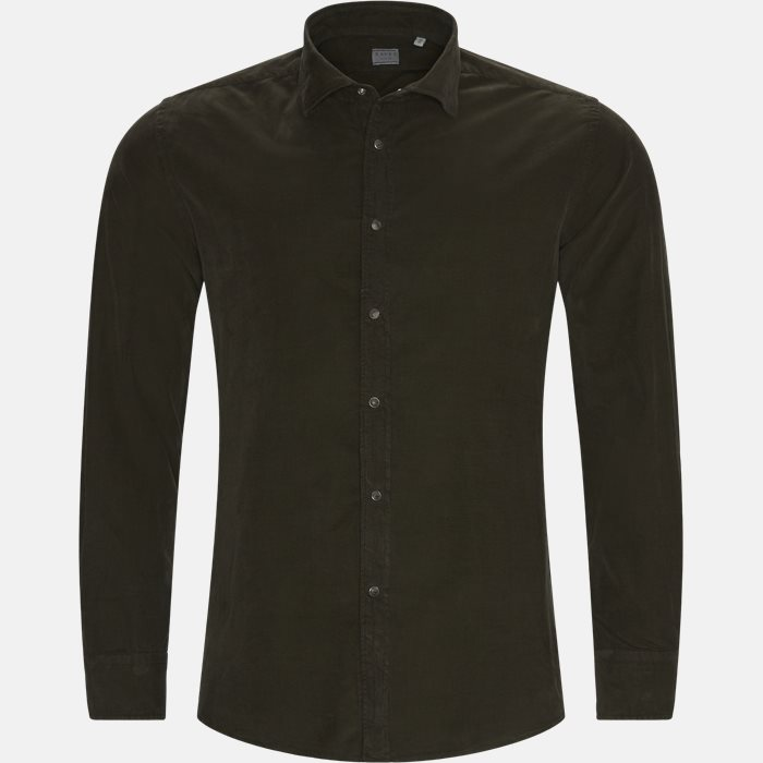 Shirts - Regular - Brown