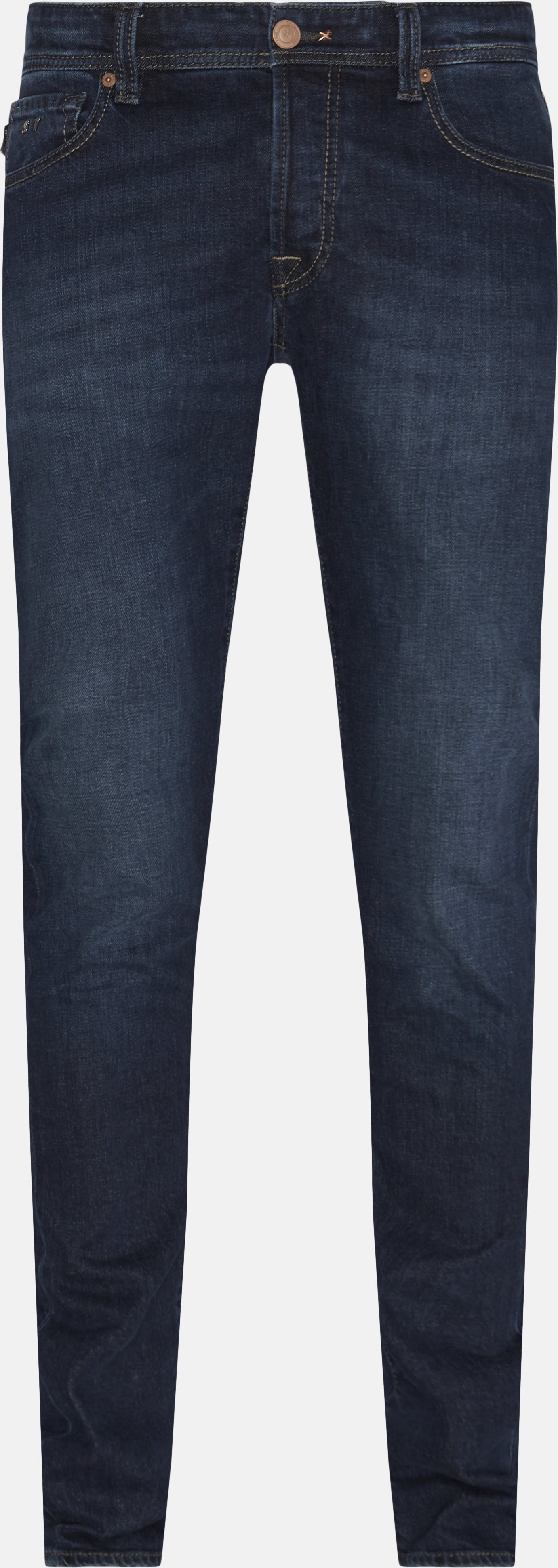 Jeans - Regular fit - Blå