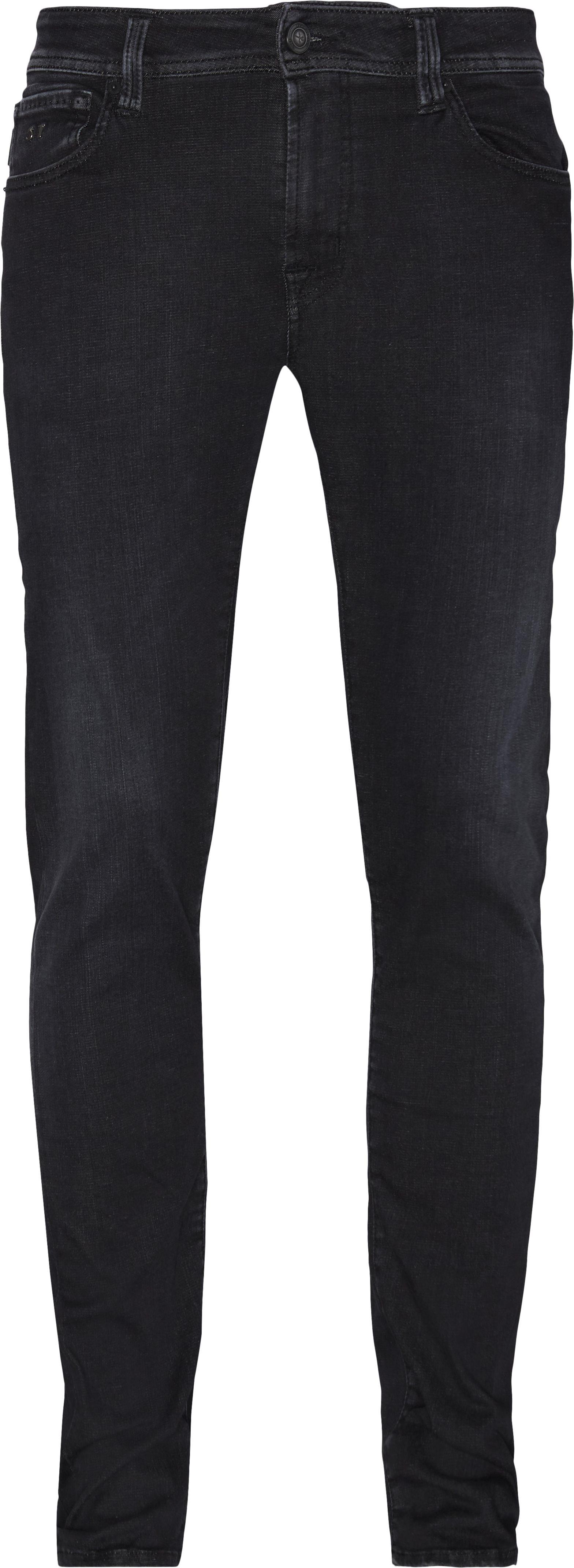 Leonardo Jeans - Jeans - Slim fit - Sort