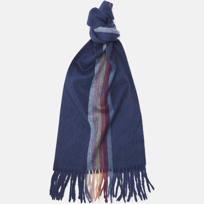 119F AS09 Tørklæde - Tørklæder - Blå