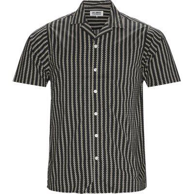 Ross Kortærmet Skjorte Regular | Ross Kortærmet Skjorte | Sort