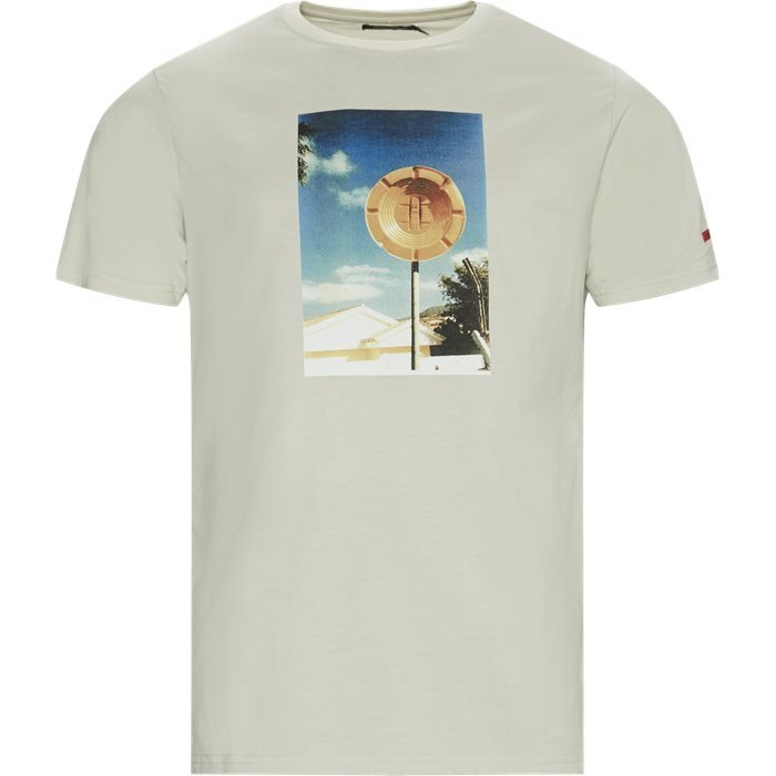 Parking Tee - T-shirts - Regular - Sand