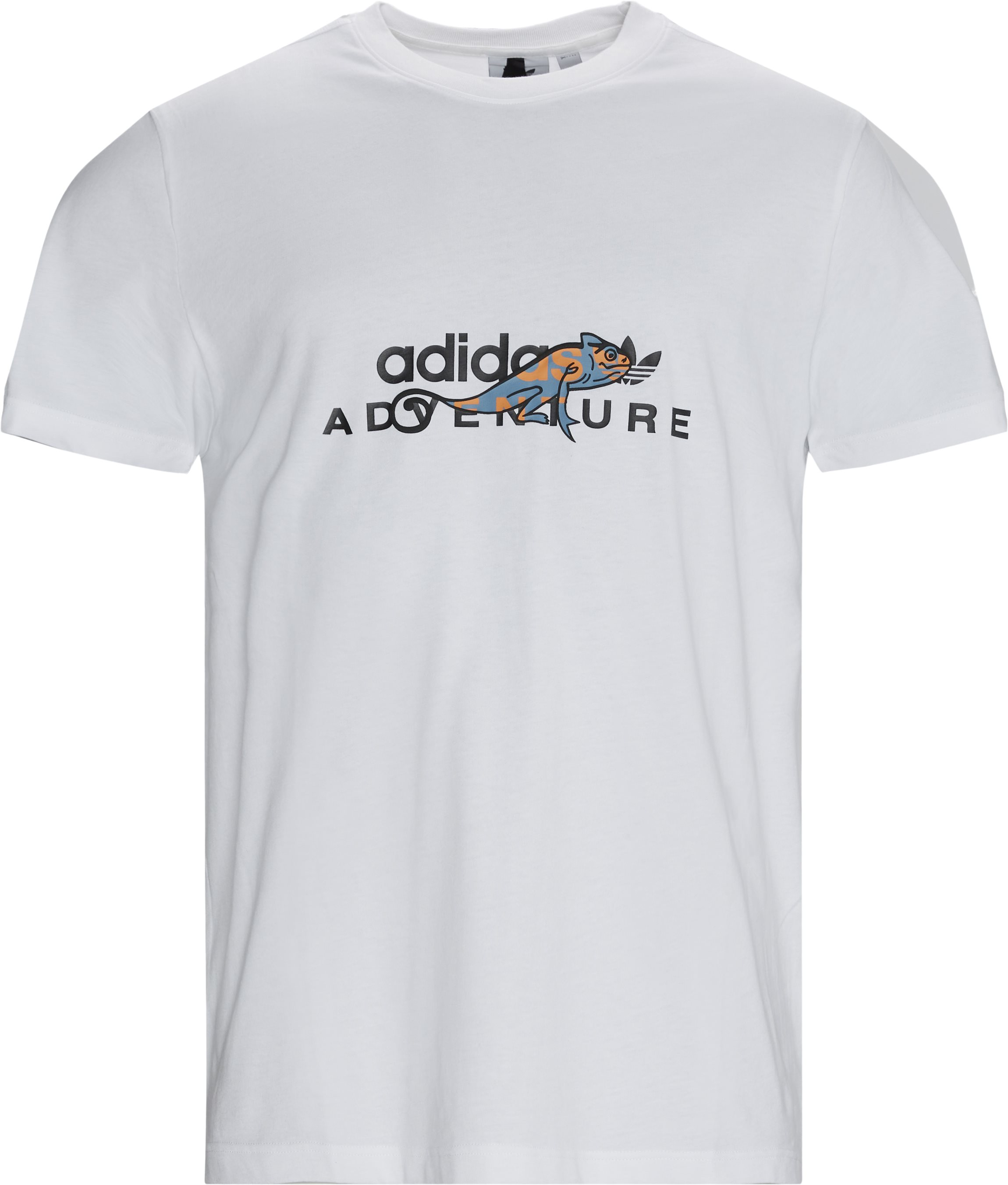 ADV Tee - T-shirts - Regular - Hvid