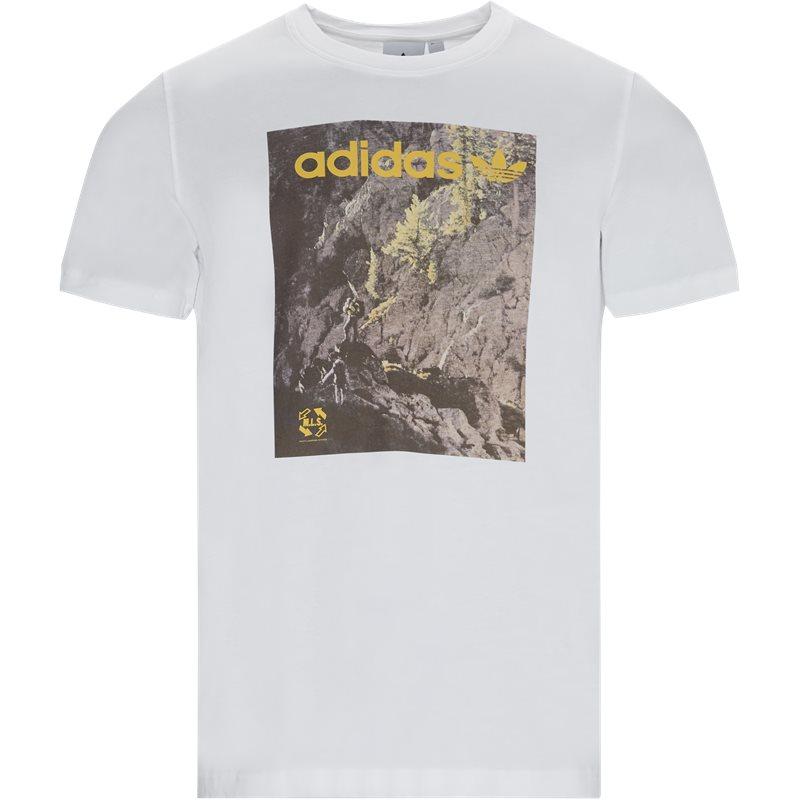 Adidas originals adv ge0899 t-shirts hvid fra adidas originals fra quint.dk