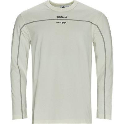 F LS Langærmet T-shirt Regular | F LS Langærmet T-shirt | Hvid