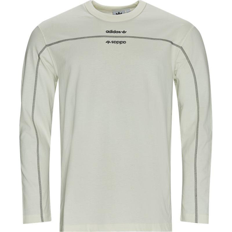 adidas originals – Adidas originals f ls langærmet t-shirt hvid på quint.dk