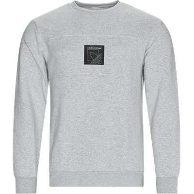 SPRT Icon Crewneck Sweatshirt Regular | SPRT Icon Crewneck Sweatshirt | Grå