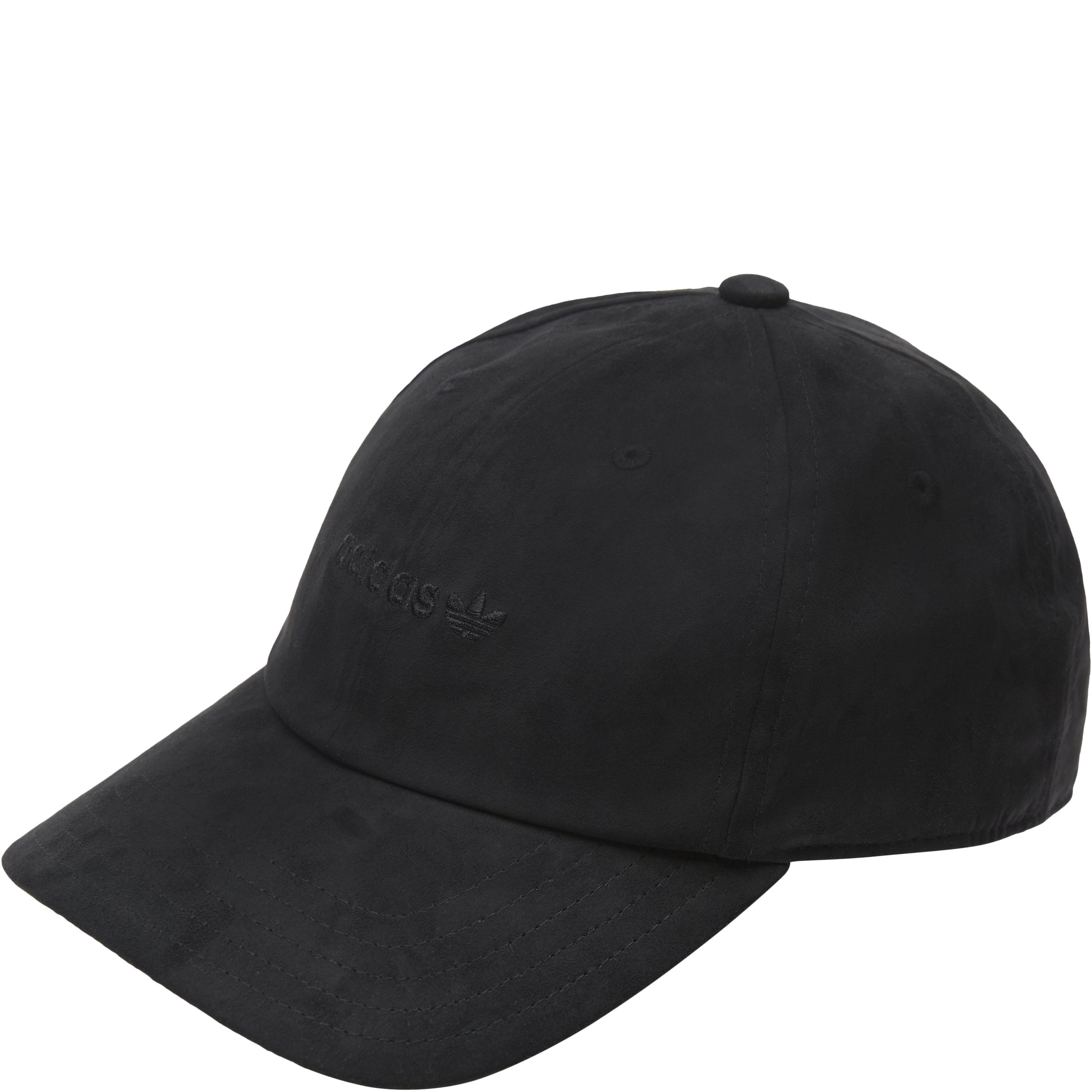 PE Suede Cap - Caps - Sort
