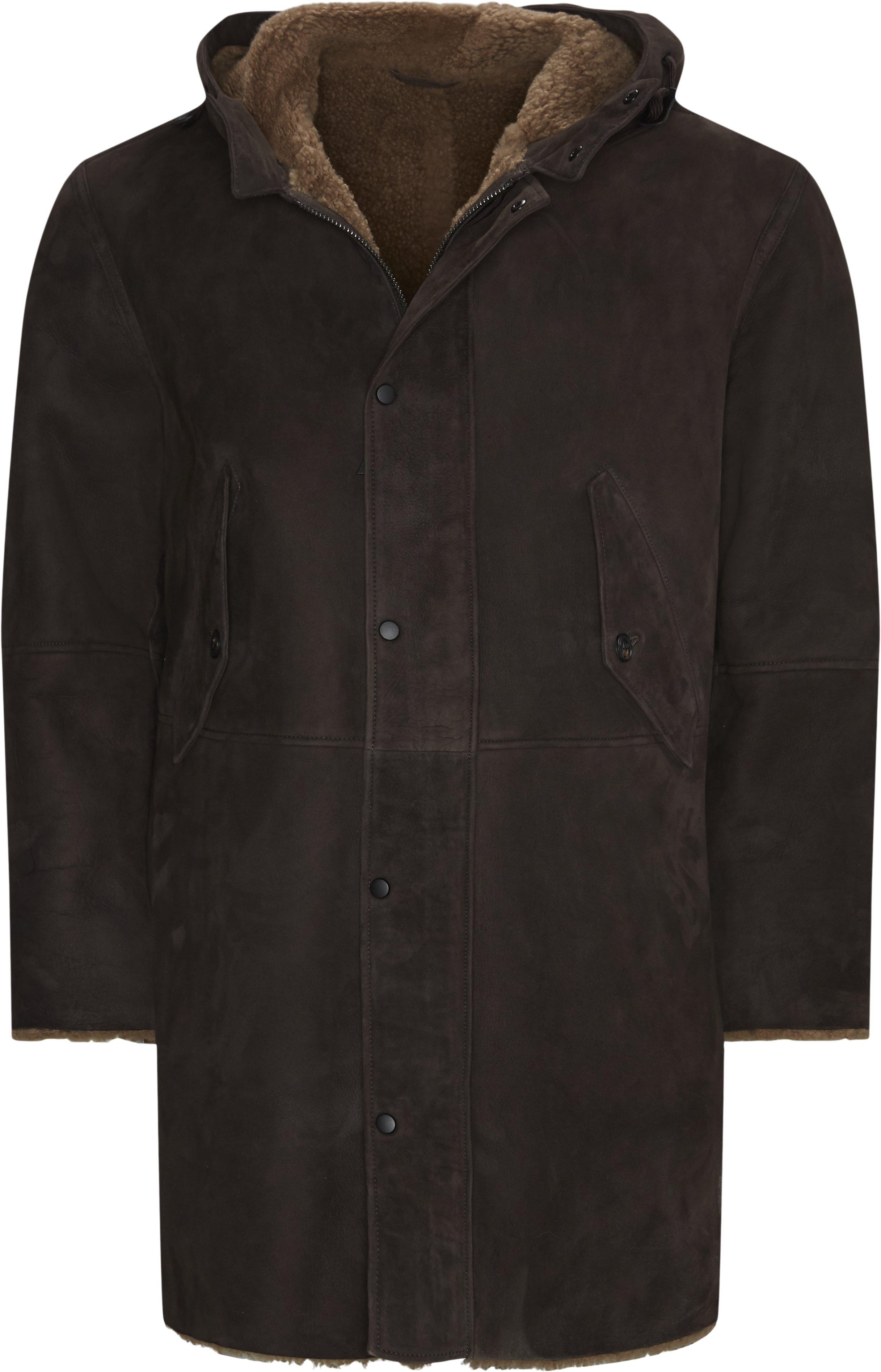 Jackets - Regular fit - Orange