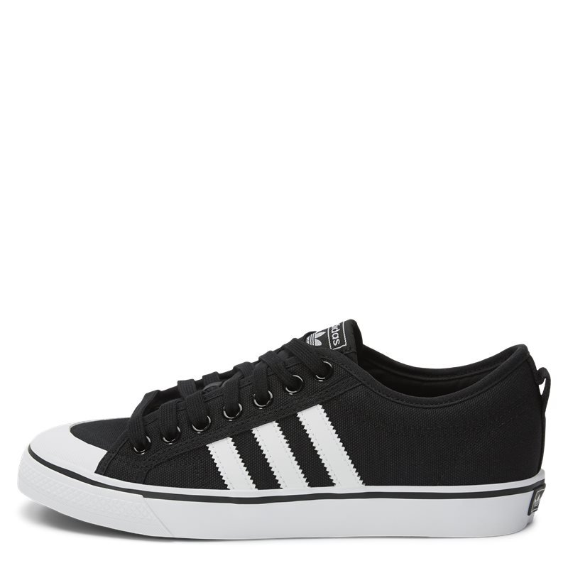 adidas originals nizza sneaker sort fra adidas originals