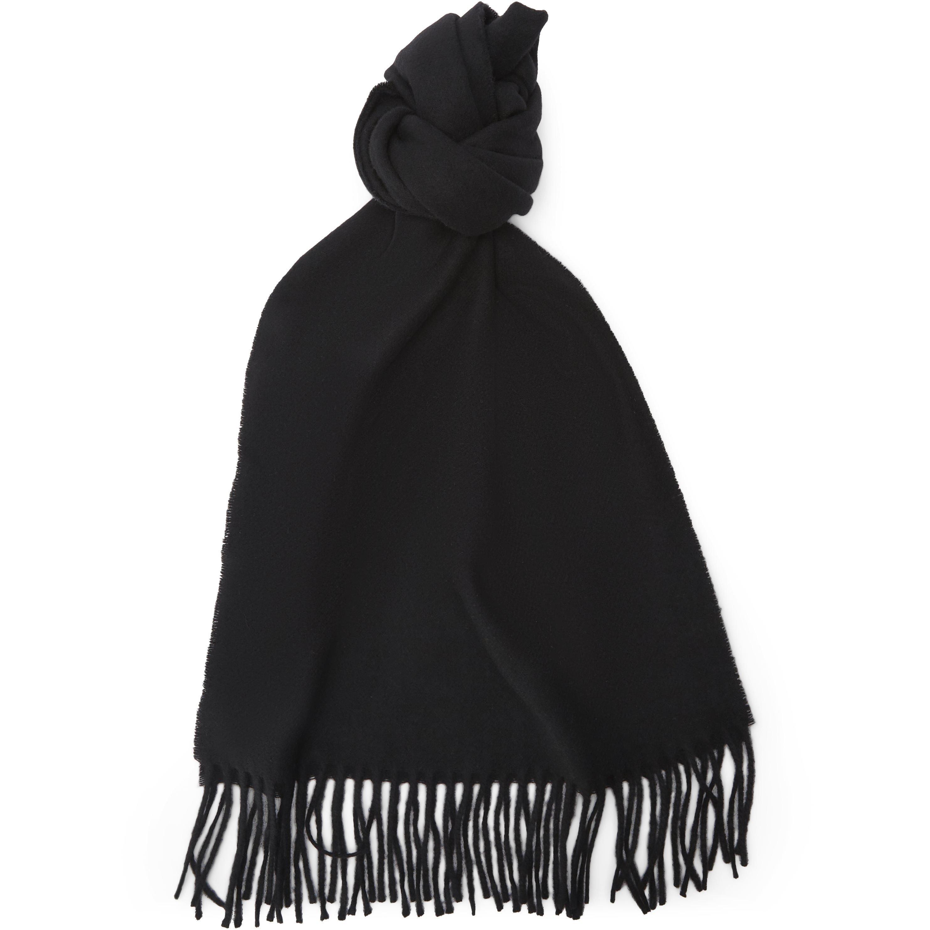 Tørklæder - Regular fit - Sort