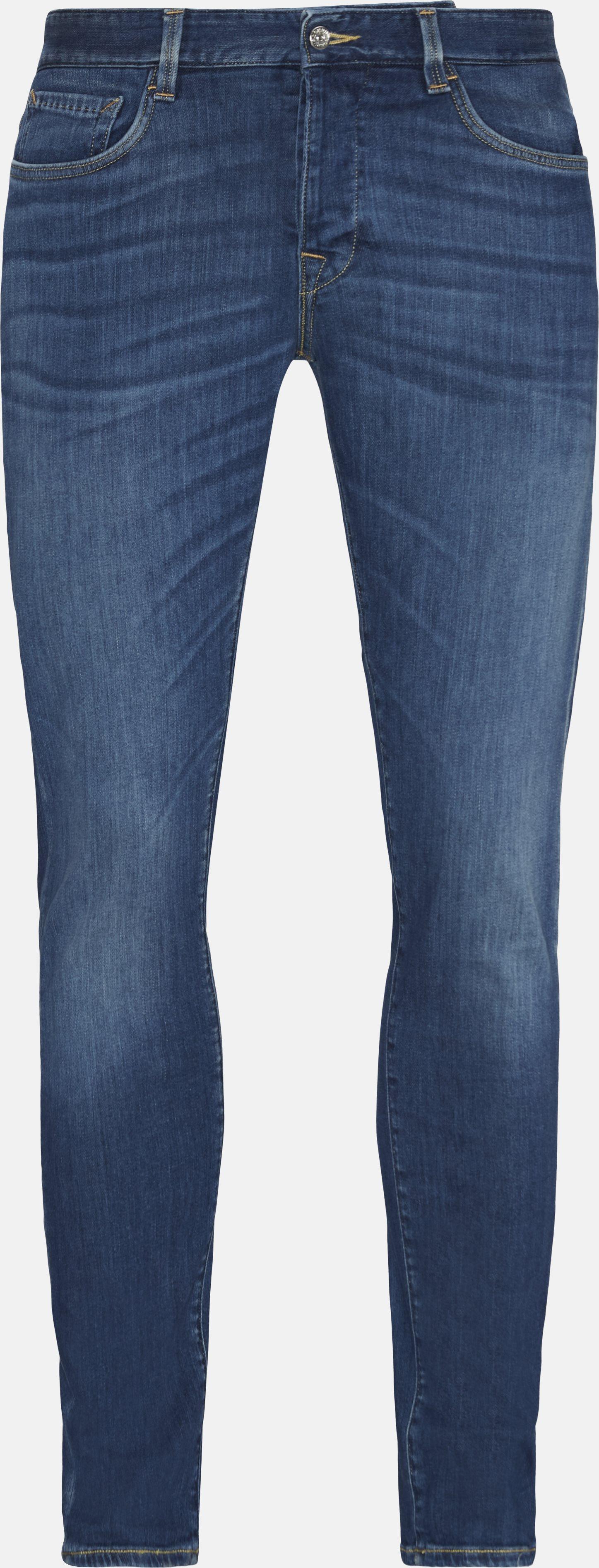 Jeans - Slim fit - Blå