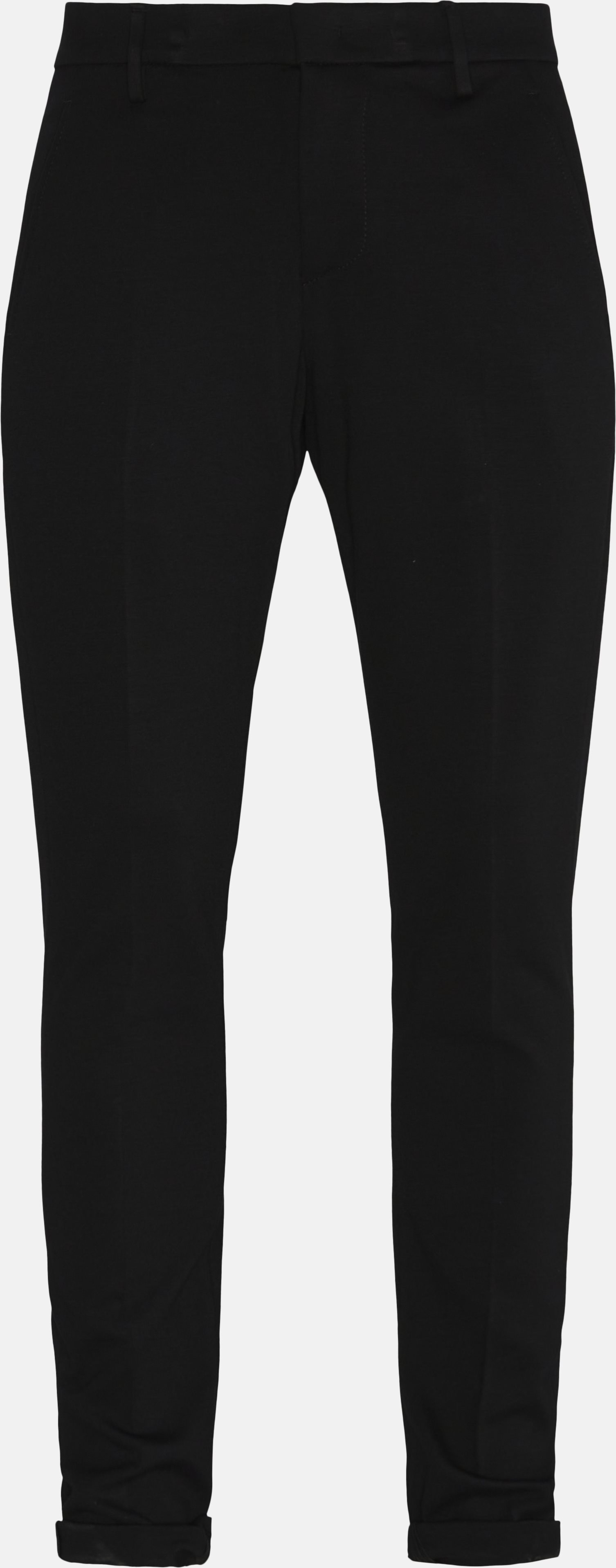 Comfort Pants - Bukser - Slim - Sort