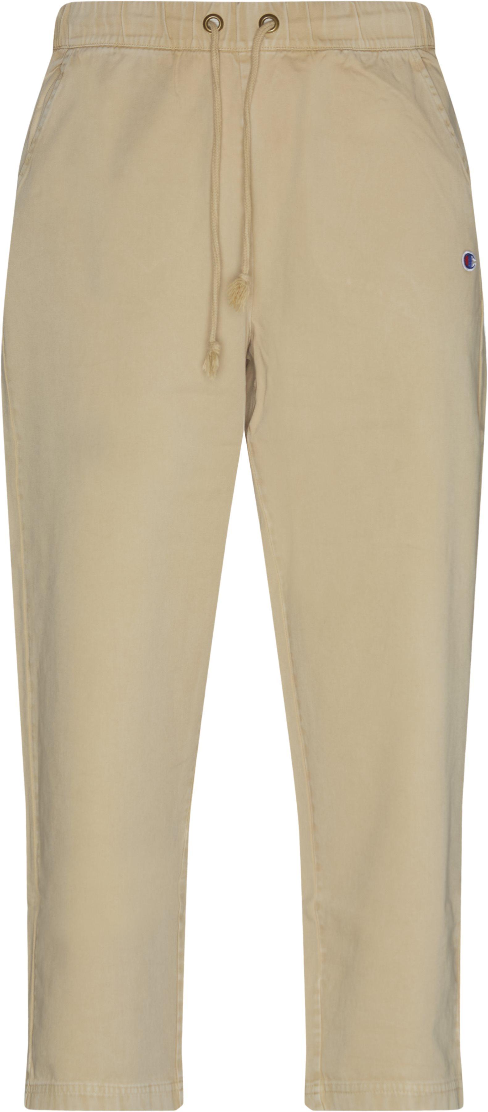 Logo Comfort Pant - Byxor - Loose fit - Sand