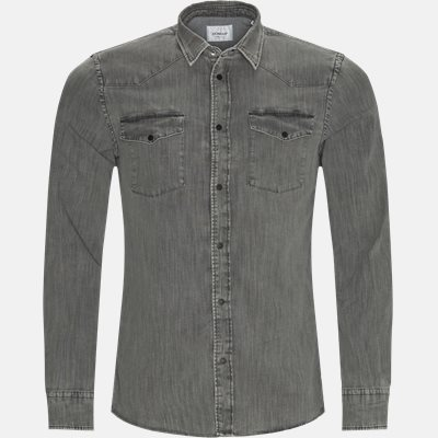 Denim skjorte Regular fit | Denim skjorte | Grå