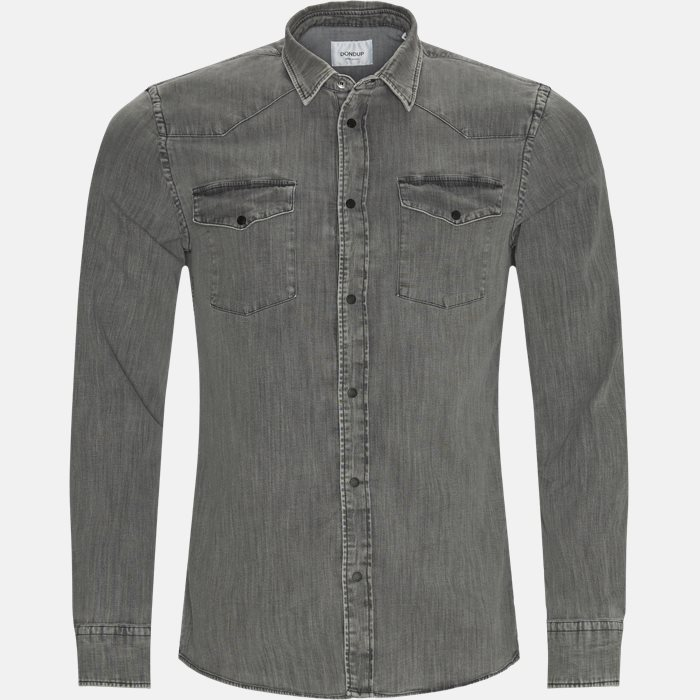 Shirts - Regular fit - Grey