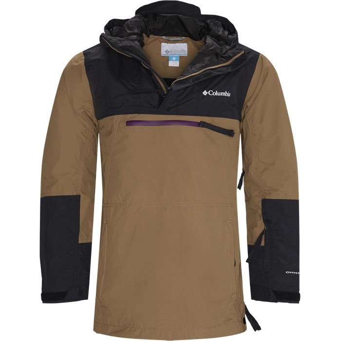 Park Run Anorak - Jackets - Regular - Sand