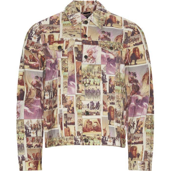Jajean Comic Jacket - Jackets - Regular - Multi