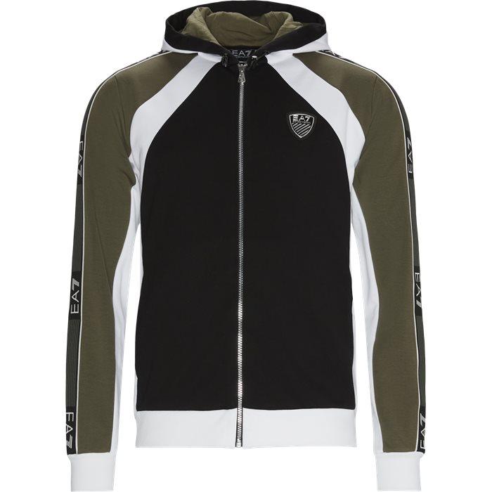 PJ3MZ Zip Sweatshirt - Sweatshirts - Sort