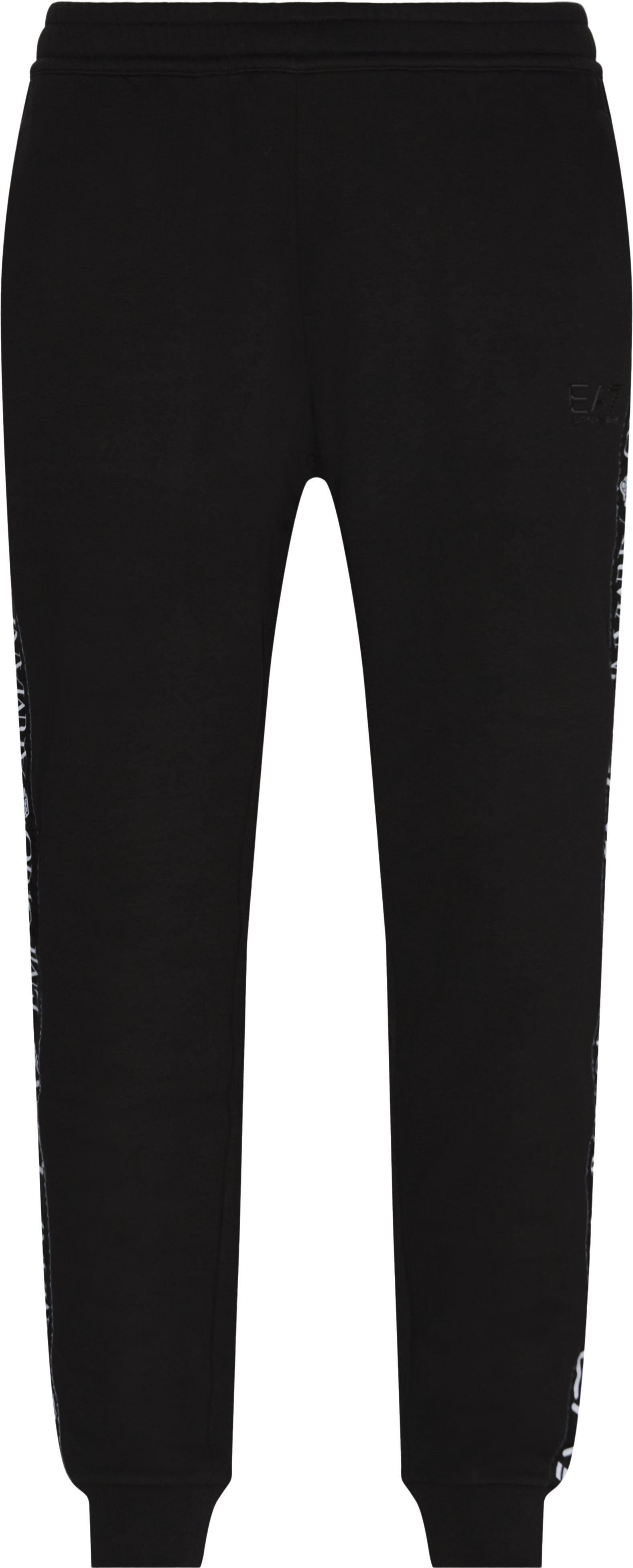 PJ07Z Logo Sweatpant - Trousers - Regular - Black